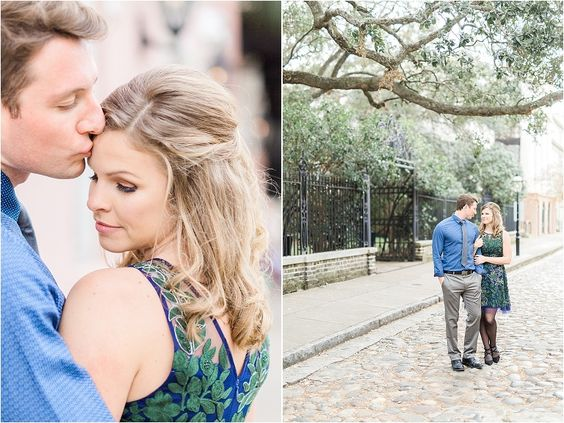 December engagement pictures in Charleston SC | Catherine Ann Photography