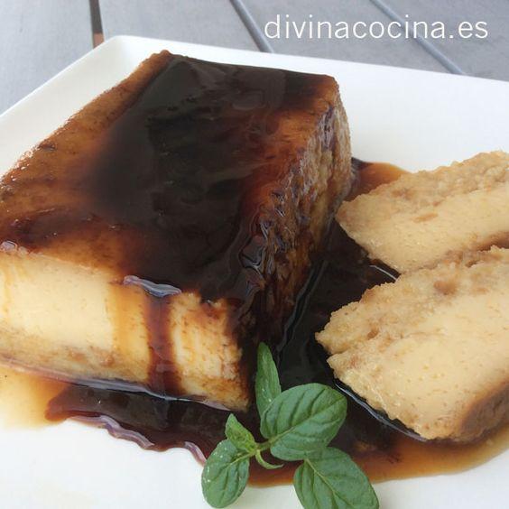 Pudding de manzanas » DIVINA COCINAMás de 2.000 recetas de cocina andaluza y del mundo. » DIVINA COCINA