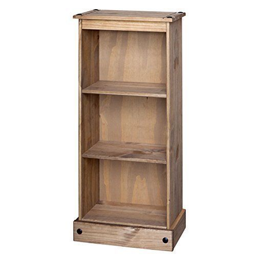Details About Corona Bookcase Solid Pine Large Medium Small Tall