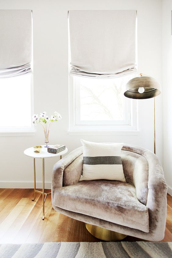Tour a Modern Brooklyn Home With Gorgeous Accent Walls via @MyDomaine