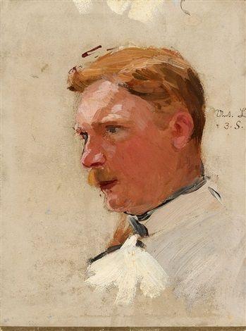 Bildnis eines Soldaten by Theodor Rocholl