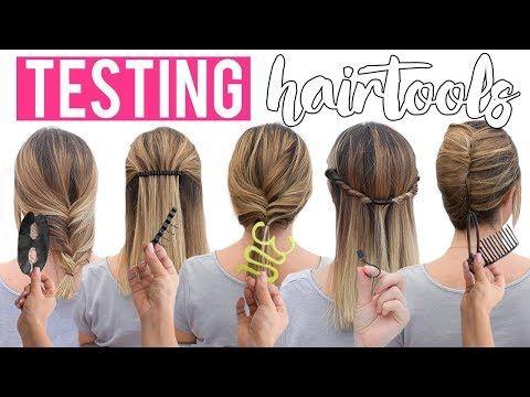 Youtube Hair Styles Hair Tools Easy Hairstyles