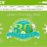 Crocs Green Monday Sale 30% Off Sitewide