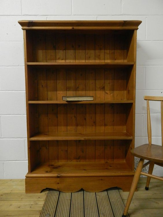 Beautiful Solid Pine Bookcase *Local Delivery Available* SOLD