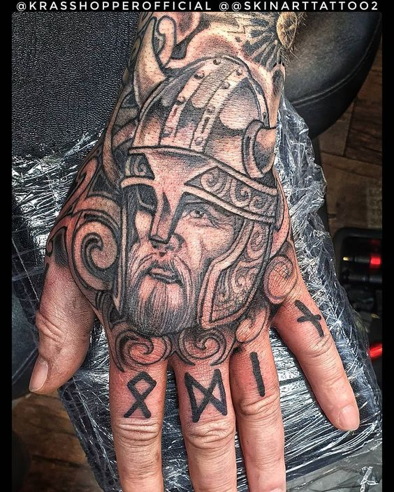 warrior tattoos for men to try, tattoo for boys hand