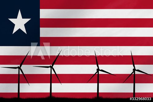 Electricity Consumption And Production In Countries Wind Power With The Flag Of Liberia Ad Paid Production Countries Ele In 2020 Liberia Flag Wind Power Flag
