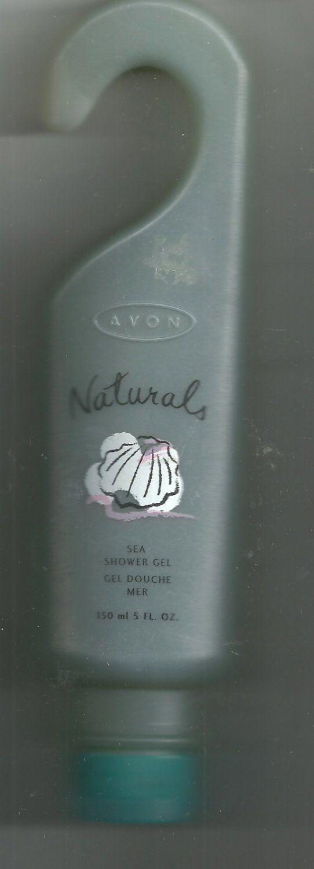 Avon Naturals  Sea Shower Gel  - 5 fl. oz.   - NOS