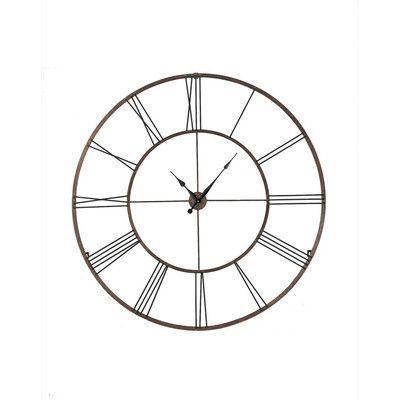 "CBK Oversized 50"" Roman Numeral Wall Clock $189.99"