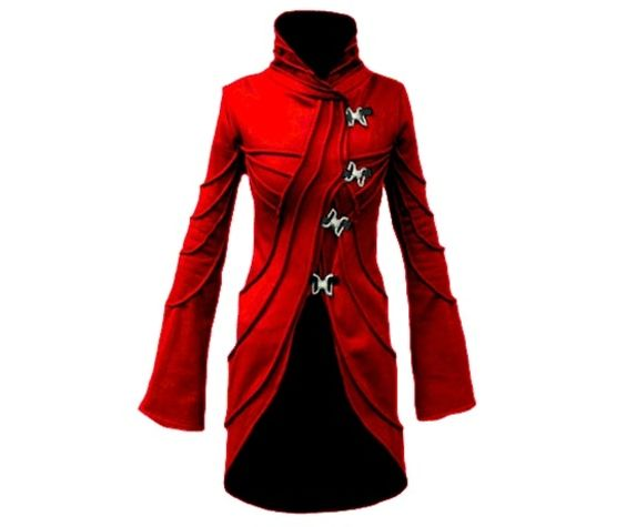 Red Vodabox Phasor Jacket-Hoodies