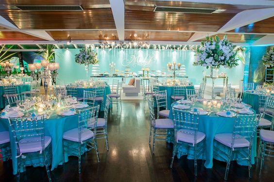 decoração azul tiffany - Pesquisa Google