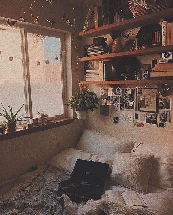 54 Aesthetic Of Vintage Room Decor En 2020 Dormitorios