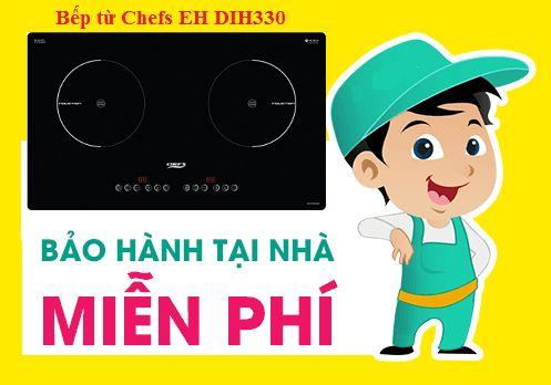 Bếp từ Chefs EH DIH330 được bảo hành mấy năm