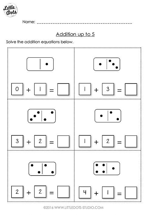 Free Addition Worksheet Suitable For Kindergarten Or Grade 1 Level Practic Kindergarten Math Worksheets Numbers Preschool Printables Preschool Math Printables