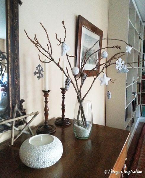 Árbol navidad con ramas #DIY #Christmastree