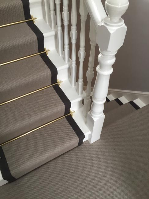 Marvelous Communal Stair Carpet And Rods   The Entry   Pinterest   Stair Carpet,  Traditional Staircase And Staircases