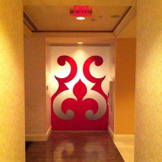 My fav door at our venue!