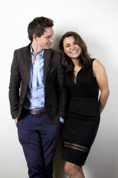 Samantha Barks and Eddie Redmayne. This is perfect.