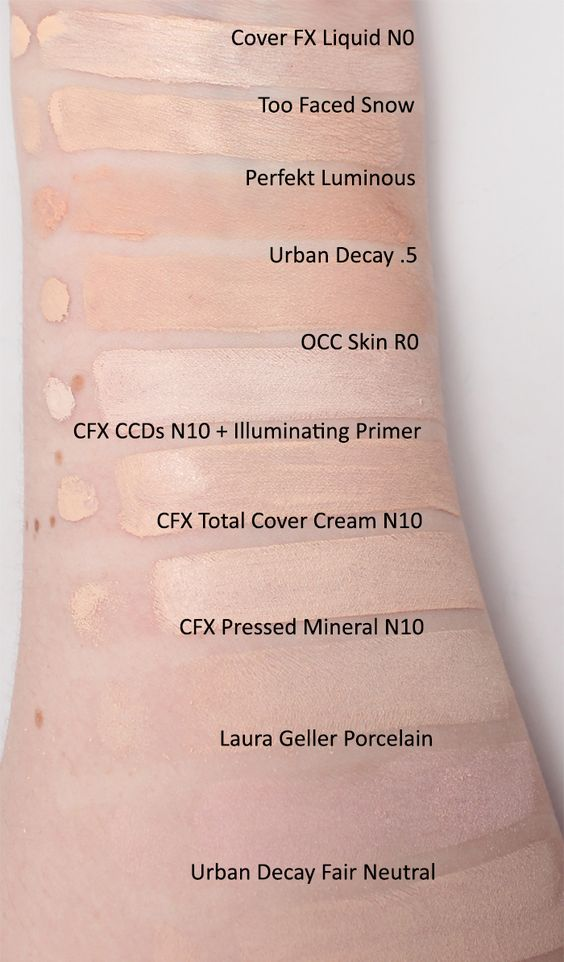 Top Ten Cruelty Free Foundations For Pale Skin Top Ten