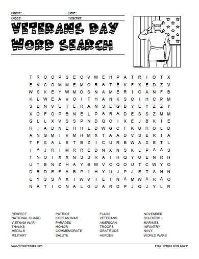 Veterans Day Vocabulary Worksheet Pdf Vocabulary Worksheets Veterans Day Activities Math Worksheets Veterans day math worksheets