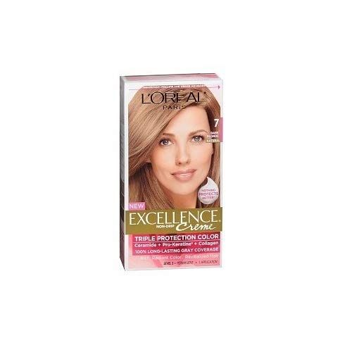 Exc H C Drk Blnd 7 R Size 1ct L Oreal Excellence Creme Hair Color Dark Blonde 7 You Can Find Out More Details At Th Hair Color Dark Dark Blonde Hair Color