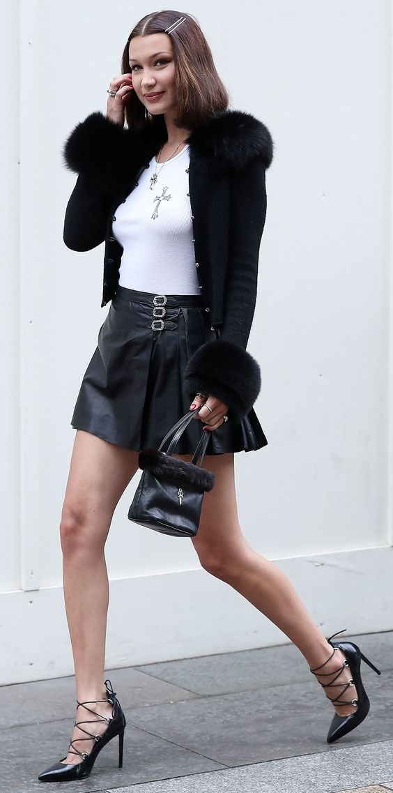 Look of the Day - Bella Hadid from InStyle.com