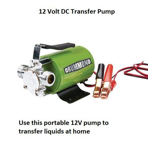 12 Volt Dc Transfer Pump Water Pump 290 Gph Compact Lightweight New Free Shipping In U S Water Pumps Outdoor Power Equipment Pumps