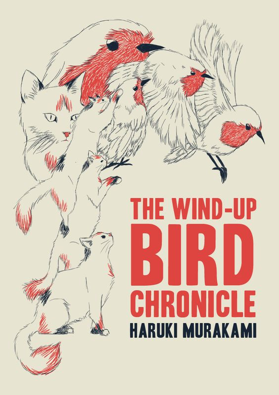 Samantha Morellos cover for The Wind-Up Bird Chronicle