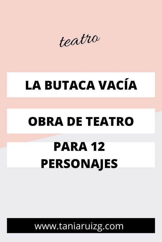 obra de teatro para 12 personajes