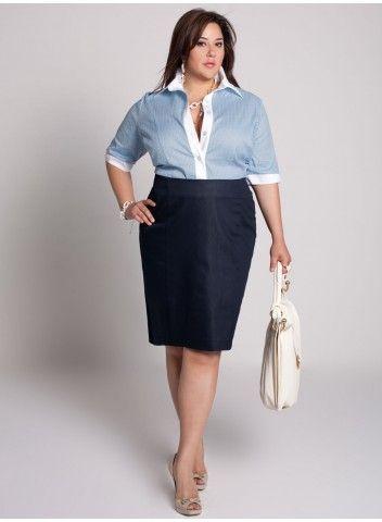 ¡Saca provecho a tu figura! Las faldas con cortes tipo imperio te ayudarán a crear una silueta más estilizada en caso de tener unos kilitos de más.