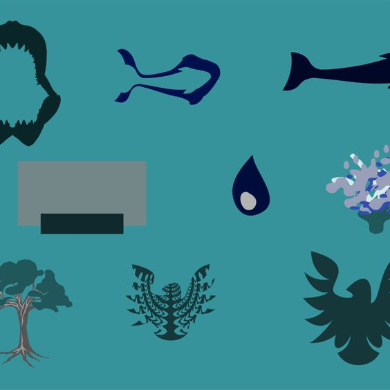 Download Free Vector - Plant and Animal - Illustrator Icon Vector Set Vector Download
