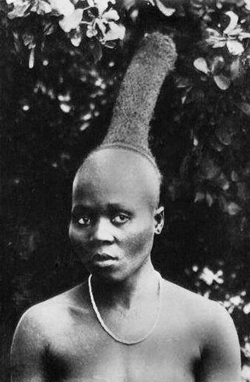 Coiffures (19th Century) Zulu hairstyle