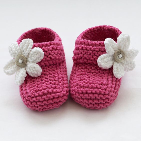 Hand Knitted Baby Shoes-Booties Knitted baby, Babies and Hands