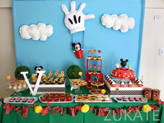Zukate fiesta de la casa de mickey mouse para valent n - Estor mickey mouse ...