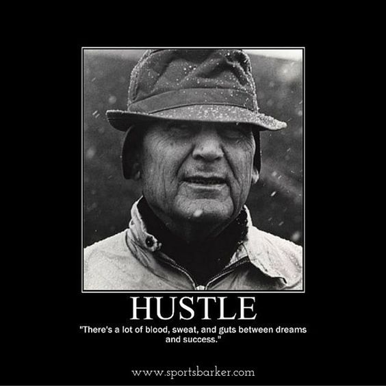 """""""Do the #hustle ! @sportsbarker #quote #quotes #quoteoftheday #quotestoliveby #football #sports"""" Photo taken by @sportsbarker on Instagram, pinned via the InstaPin iOS App! http://www.instapinapp.com (10/26/2015)"""