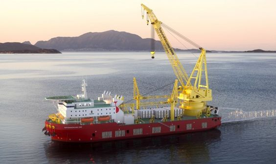 SapuraKencana DP3 heavy-lift and pipelay vessel SapuraKencana 3500