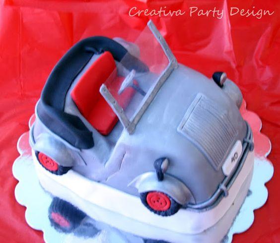 Pastel Biscuter! www.creativapartydesign.com