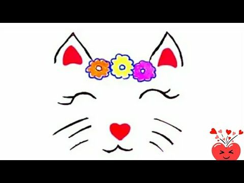Cool Drawings How To Draw A Cat Face Easy Cute Drawings Butterfly Drawing Sketches Youtube Butterfly Drawing Cool Drawings Drawing Sketches