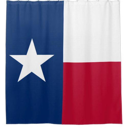 Texas Flag Lonestar Shower Curtain Western Fabric New In Package