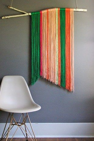 Fabric Wall Hangings | 19 Ingenious Ways To Decorate Your Small Space