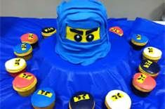 lego ninjago cupcakes and cookies