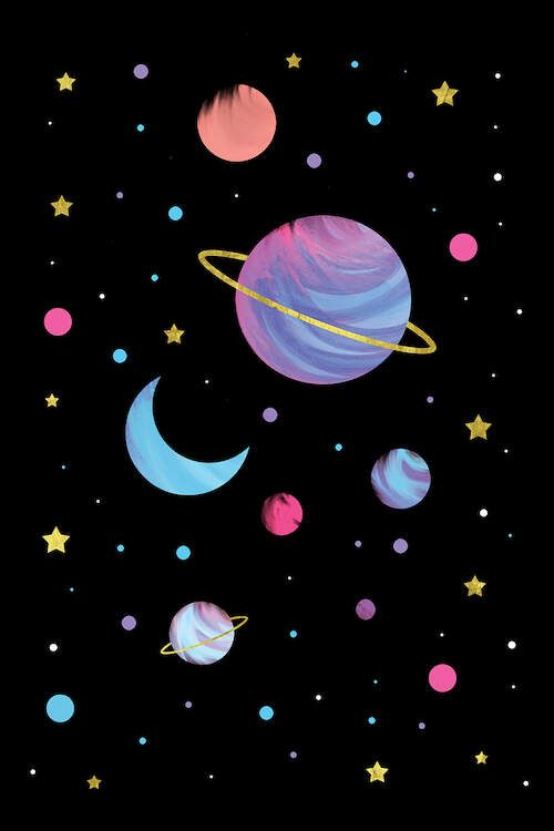 Great Universe Canvas Print By Emanuela Carratoni Witchy Wallpaper Outer Space Wallpaper Art Wallpaper Iphone