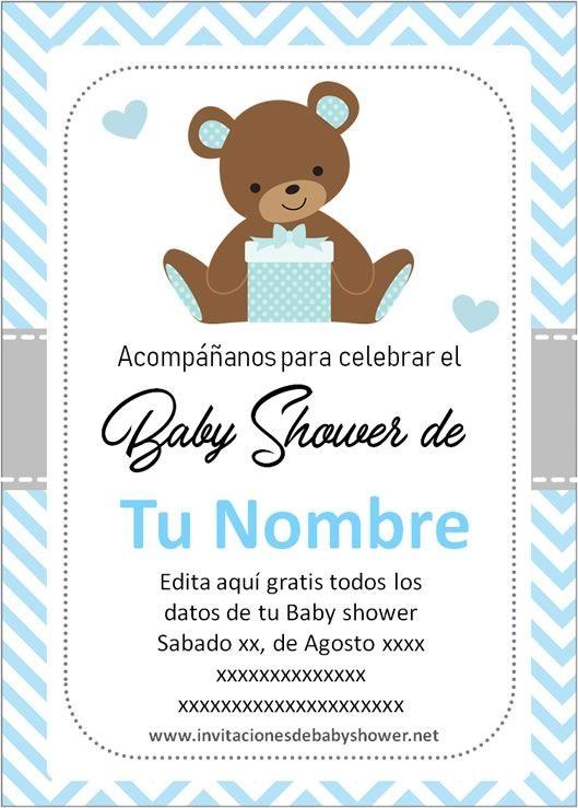 Diseno De Baby Shower Nina