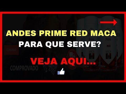 Andes Prime Red Maca Peruana Funciona Ovarios Policisticos