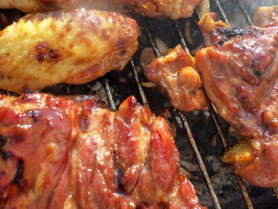 Le Canard Du Mékong : Barbecue de poulet teriyaki