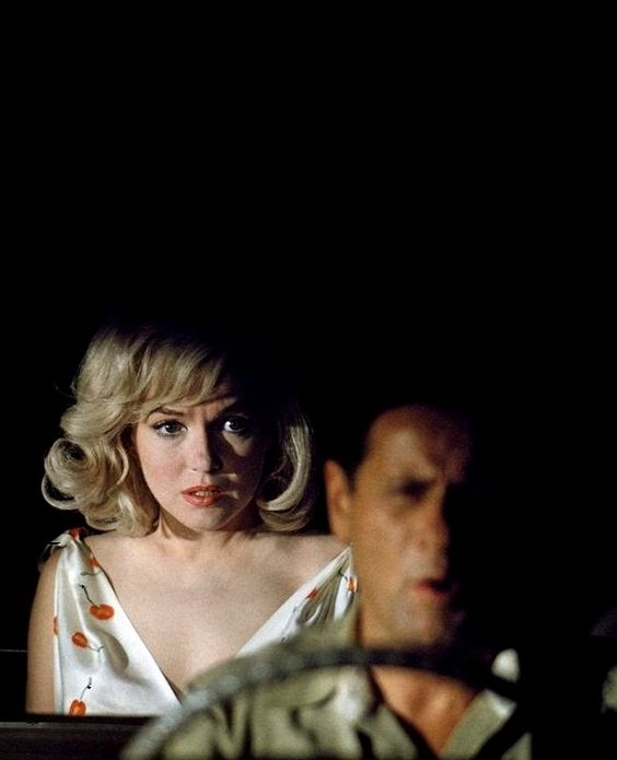 Marilyn Monroe  Eli Wallach in The Misfits (1961, dir. John Huston) (via) Photo by Erich Hartmann.