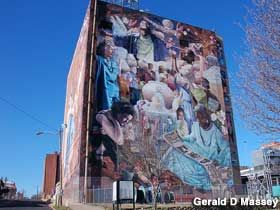 14-Story Mural, Largest in the USA in Shreveport, Louisiana: