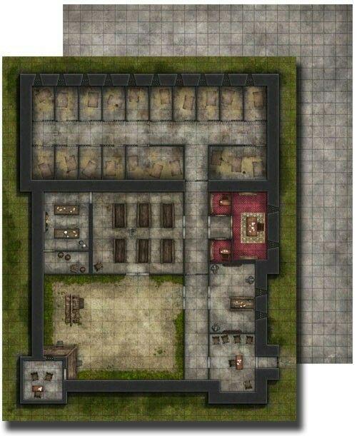 Prison battlemap