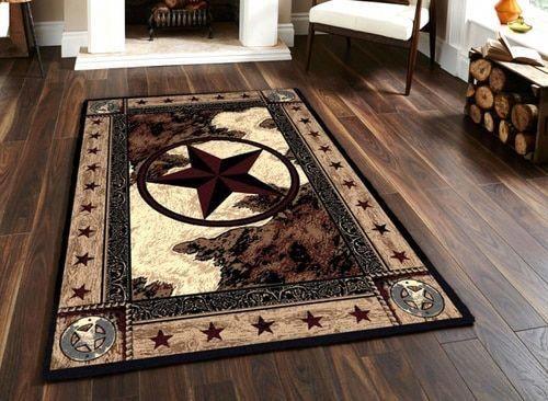 Western Cowboy Star 5 By 8 Rug Livingroomdecoridea House Decor Rustic Western Decor Western Home Decor