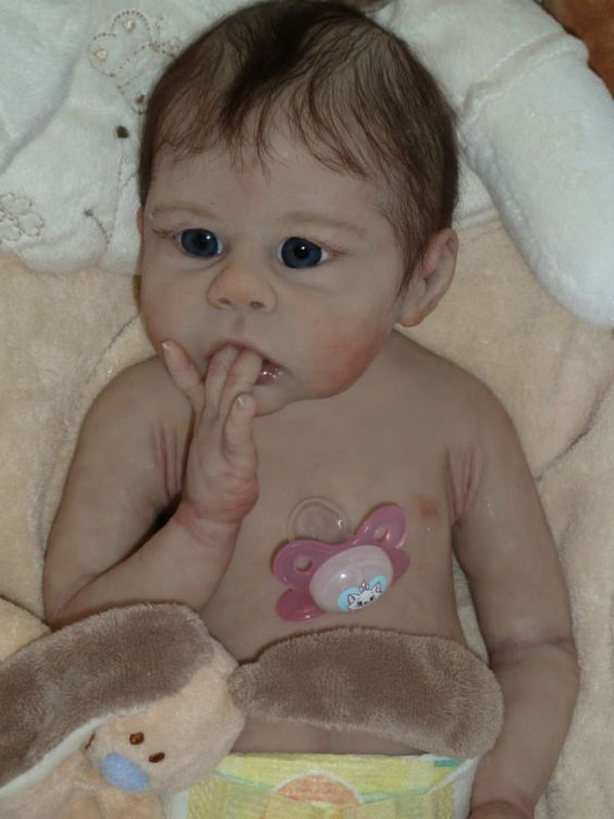 Full Body Silicone Baby Girl Platinum # 6 of 7 of Worldwide Reborn Doll