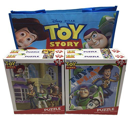4 - 48 pc Disney Toy Story Pixar Puzzles and 1 Tote Bag B... https://www.amazon.com/dp/B01CX0YREE/ref=cm_sw_r_pi_dp_x_DlHaybHPNCSPH